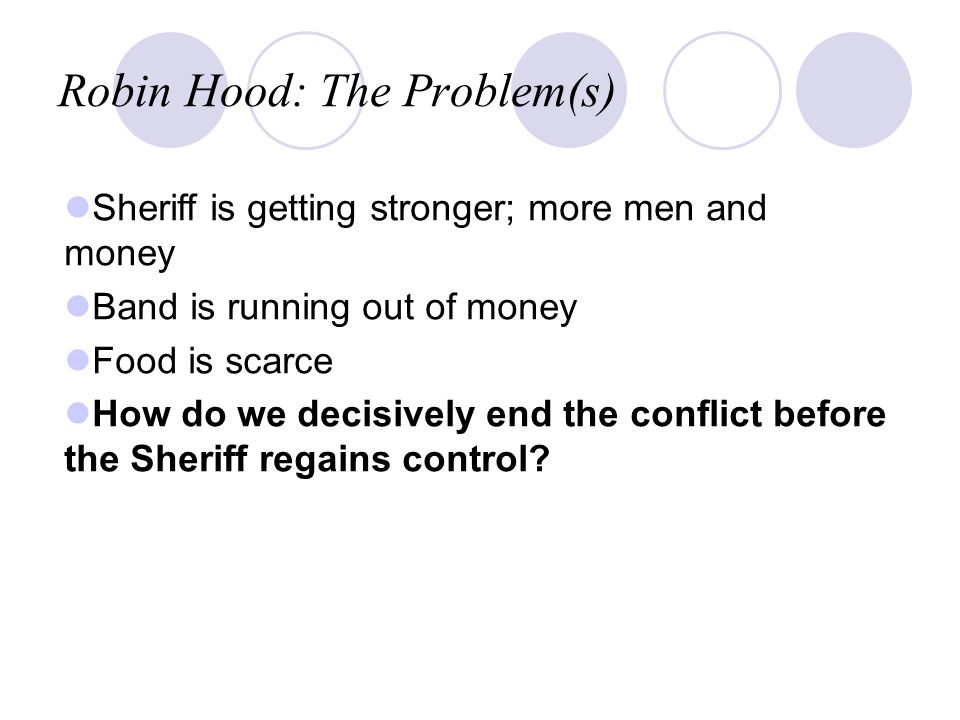 robin hood case study discussion This study guide consists of approximately 54 pages of chapter summaries, quotes, character analysis, themes, and more - everything you need to sharpen your knowledge of the merry adventures of robin hood.