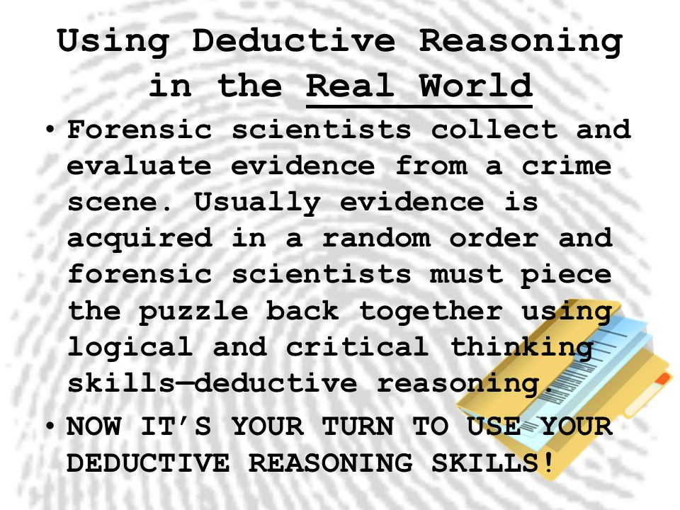 critical thinking and crime scene N forensic science an introduction n taken from: forensic science: from the crime scene to the crime lab application and critical thinking.