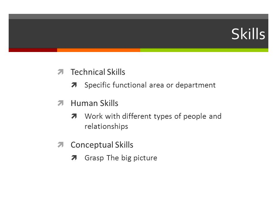 4 skills technical - Different Types Of Technical Skills