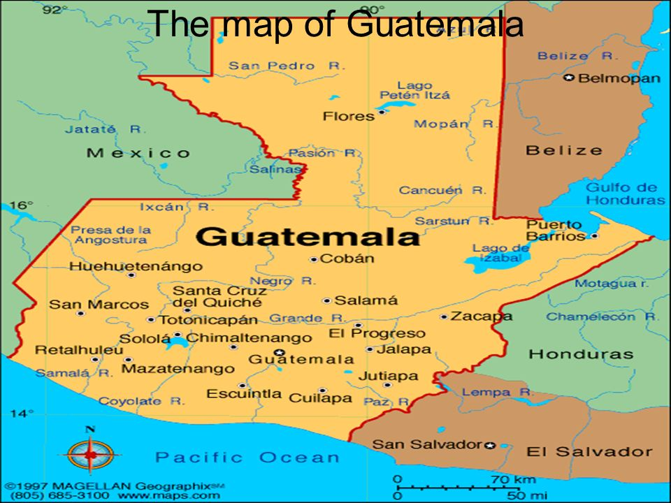 Child Labor In Guatemala Ppt Download - Map of guatemala