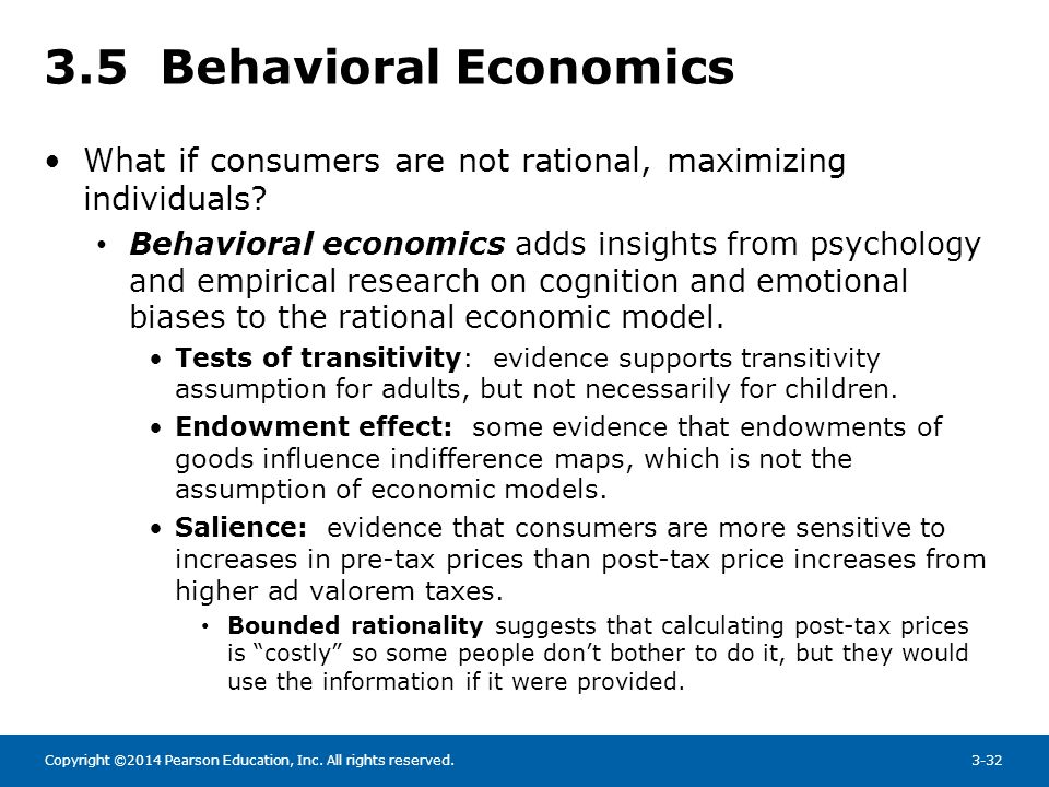 economics and rational people The definition of rational in economics, and in the rest of the world, are very different rationality in economics refers to the type of preferences a person .