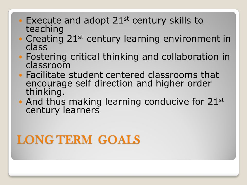Collaborative Teaching Goals ~ Sadia bangash the city school urdu grade ppt video
