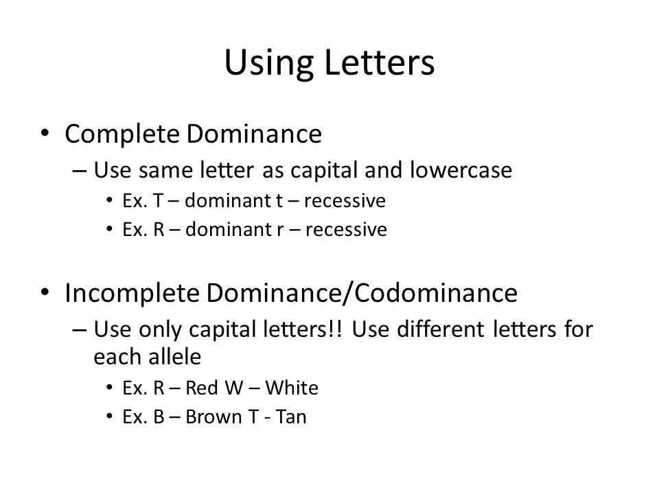 Monday 12714 Grab a Bellwork sheet and begin on this problem – Incomplete and Codominance Worksheet Answers