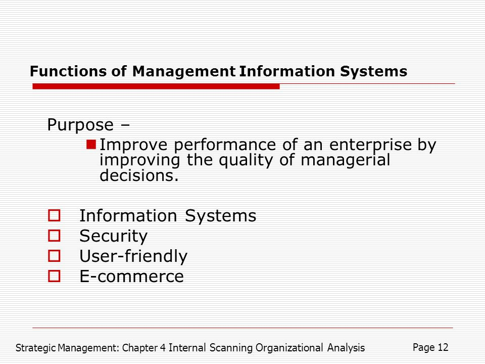 Importance and Objective of Management Information System (MIS)