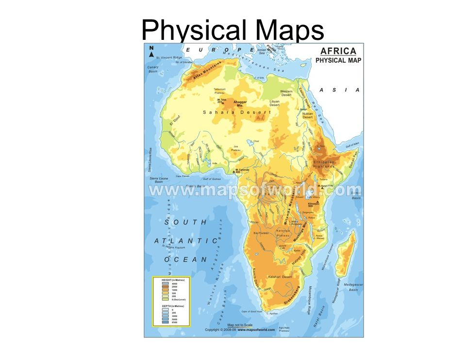 Political Physical Topographic And Thematic Maps Ppt Video - A physical map