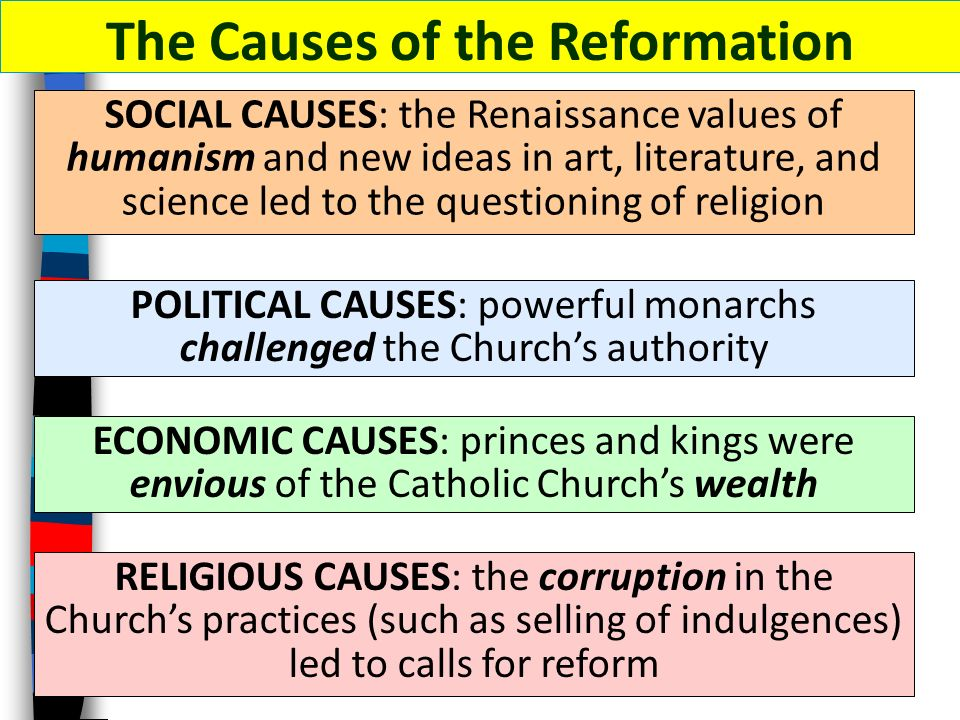 What Caused the Protestant Reformation?