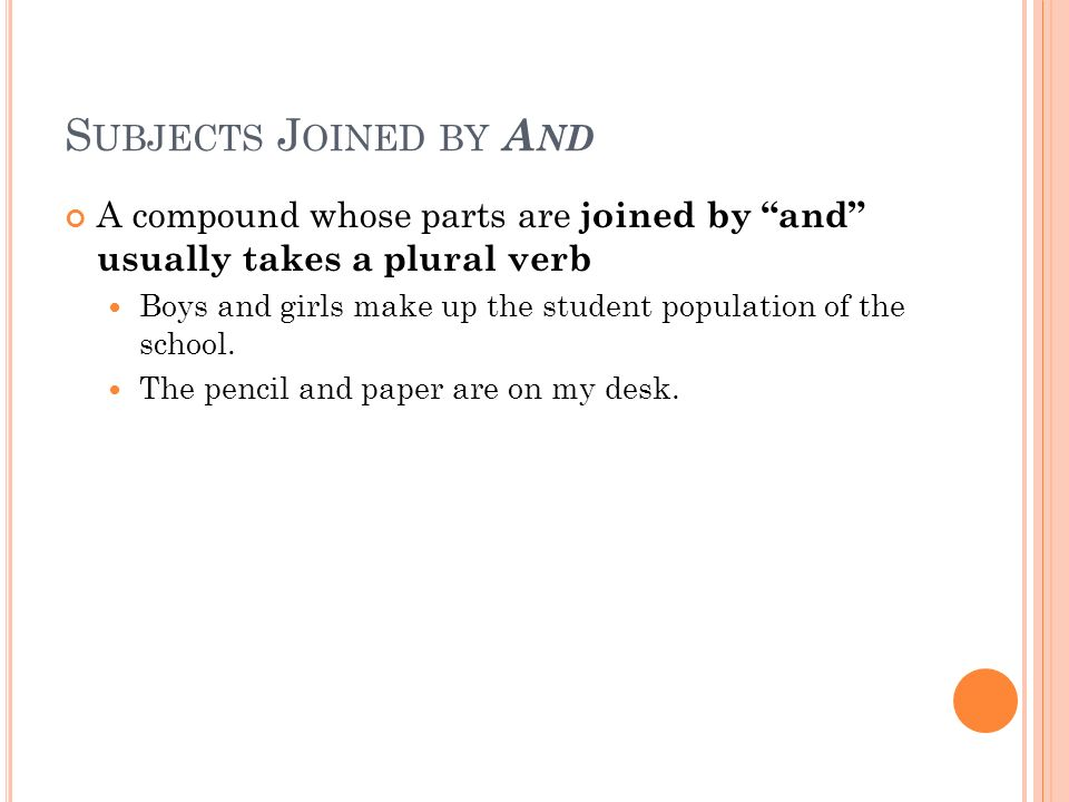 Subject verb agreement ppt video online download for Bureau plural