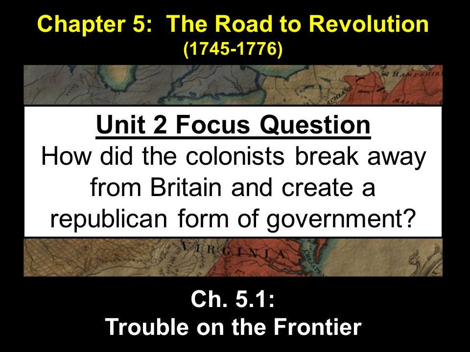 were the american colonists justified in breaking away from england The colonies were not in a state of economic crisis on the contrary, they were   no groups of american citizens were clamoring for freedom from england based .