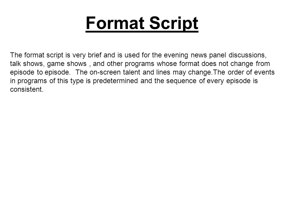 tv show script format ecza productoseb co