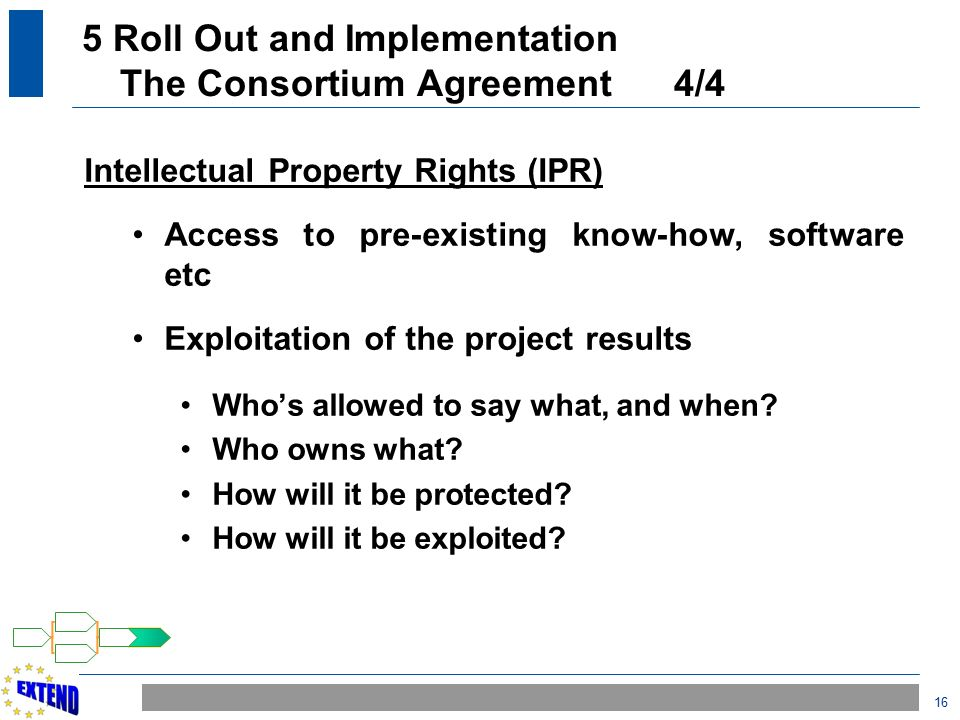 Project lifecycle ppt download 5 roll out and implementation the consortium agreement 44 platinumwayz