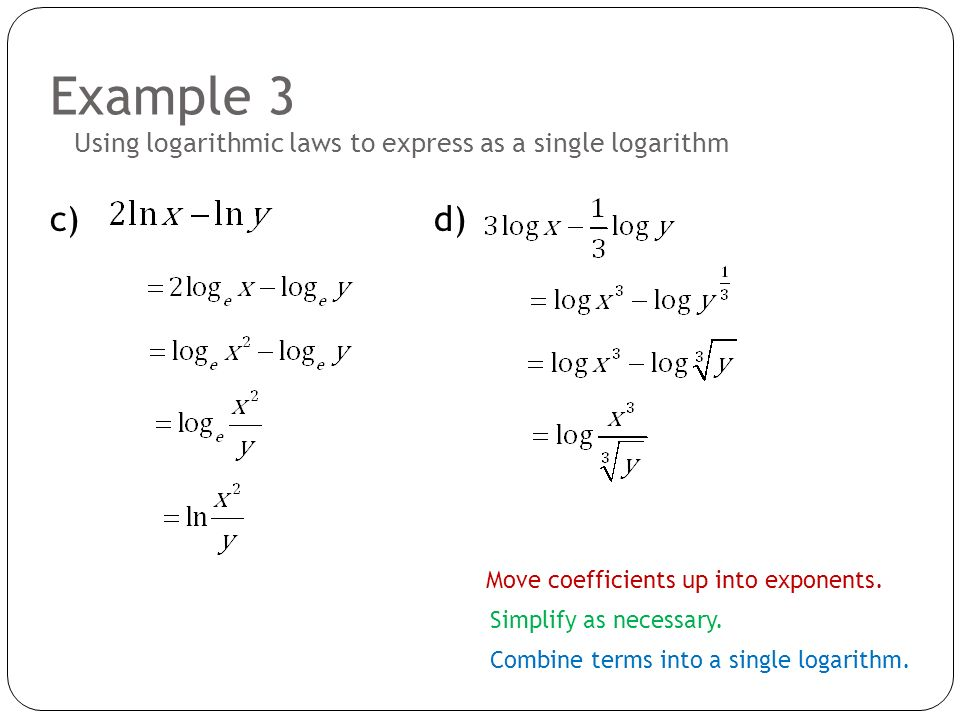 Write the expression as a sum, difference, or multiple of logarithms.?