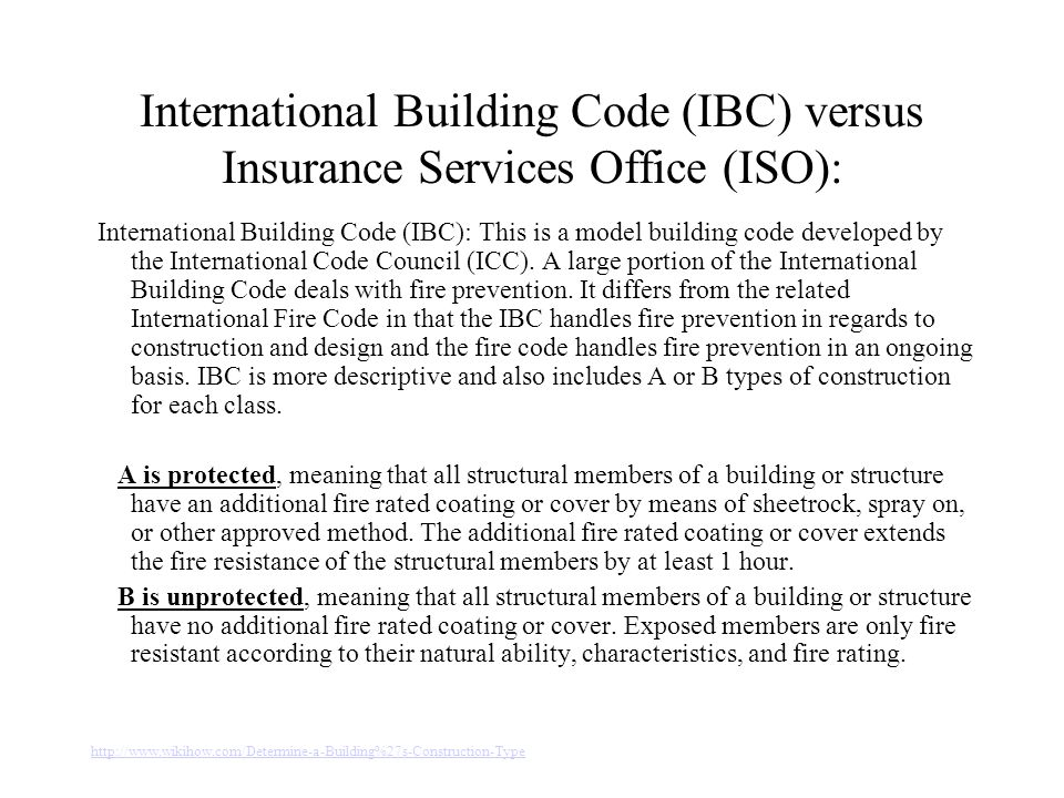 Construction type of buildings ppt video online download for Construction types insurance
