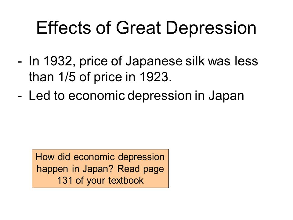 Japanese great depression