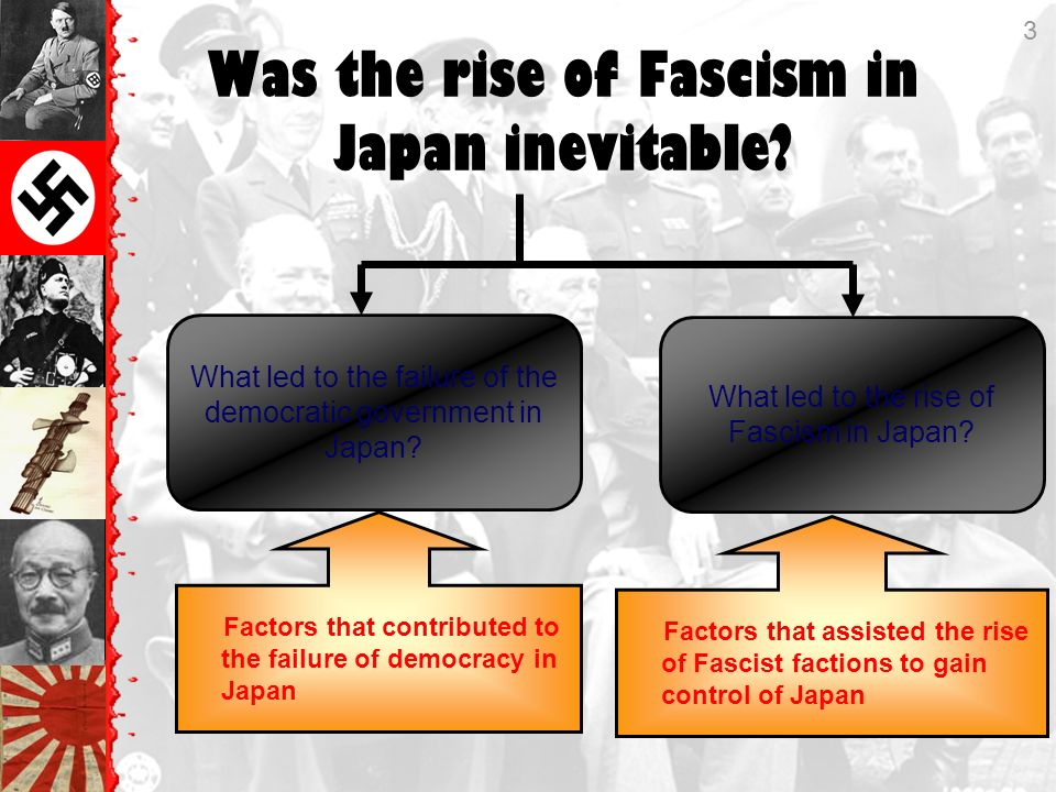 what led to the rise of fascism in japan essay