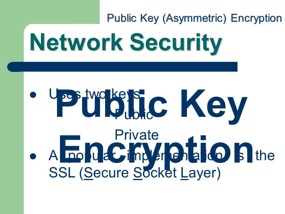 how to use public key private key encryption