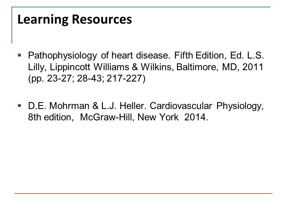 pathophysiology of heart disease lilly pdf