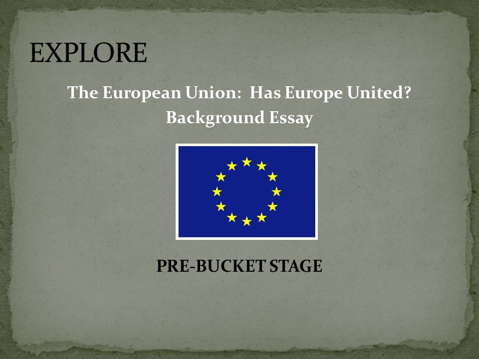 benefits of the european union essay The european union, commonly referred to as eu, is a political and economic union of 27 member states which was established in 1933 with the foundation of the.
