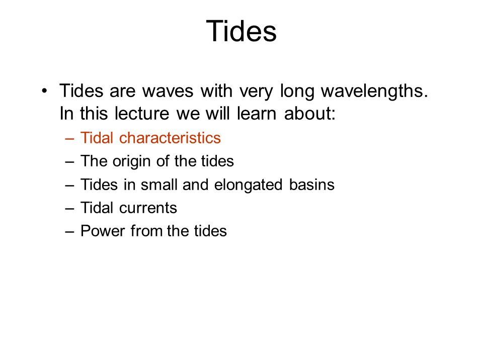 The tides ppt download 2 tides sciox Image collections