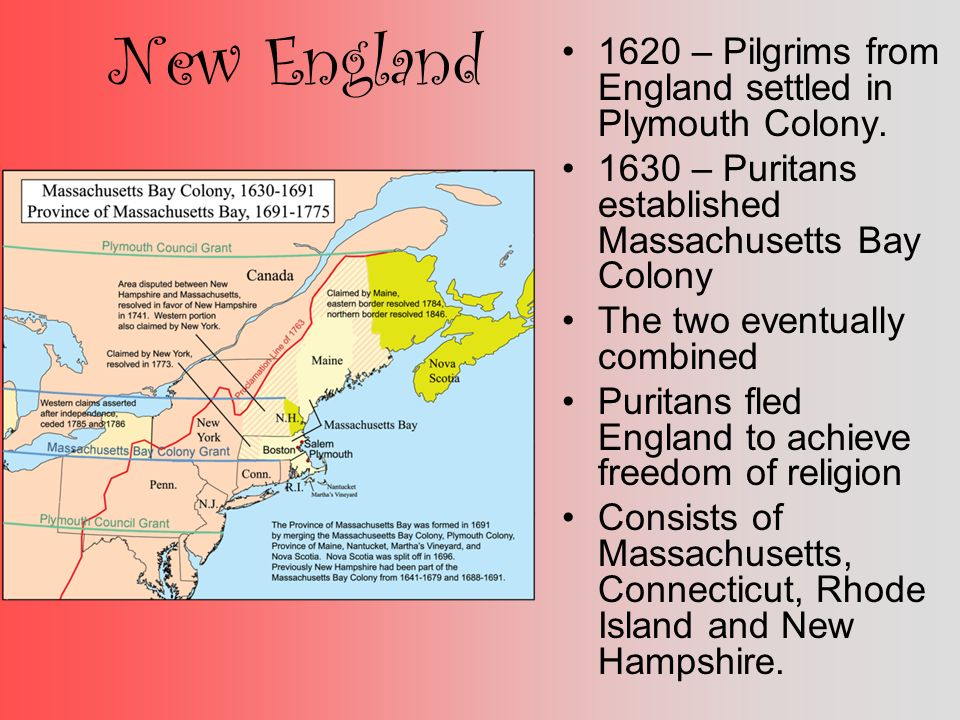 The journey and new start at the plymouth colony of the puritans