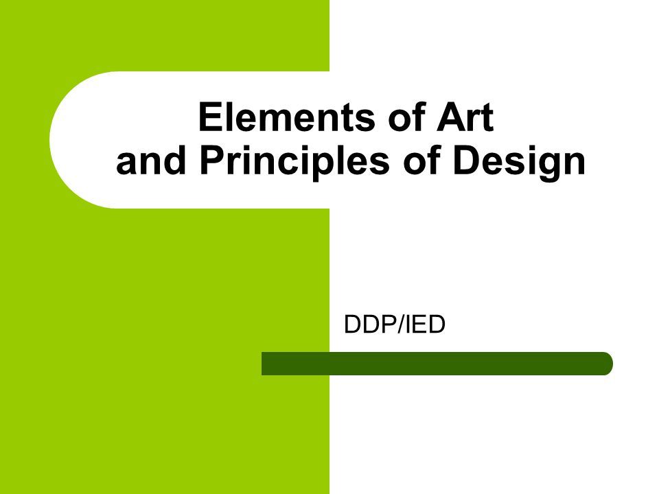 What Are The Elements Of Art And Principles Of Design : Elements of art and principles design ppt video