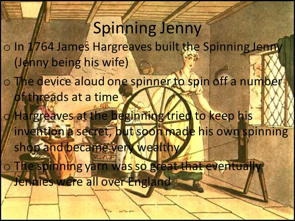 spinning jenny images