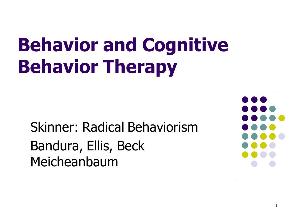 bandura and skinner Behaviorism pavlov, skinner (focus on sr) learning = behavior change movement toward objective bandura (focus on learning by observation) cognitive psychology.