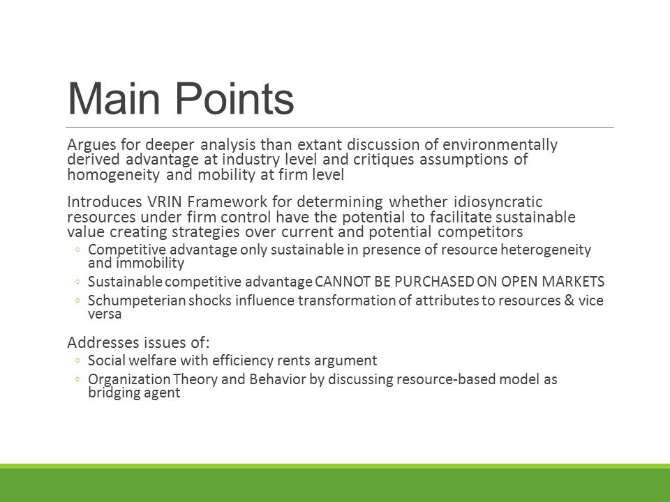 gender based theory main points This strict behaviorist point of view tries to refute other psychologists belief that we the main viewpoint in the social learning theory of rotter is that personality is a representation of the contact 2012) behaviourist theories of personality retrieved apr 11, 2018 from.