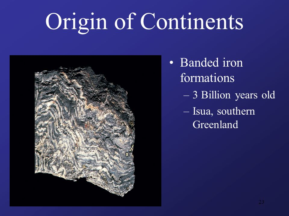 Origin Of Iron ~ The archean era of precambrian time ppt video online