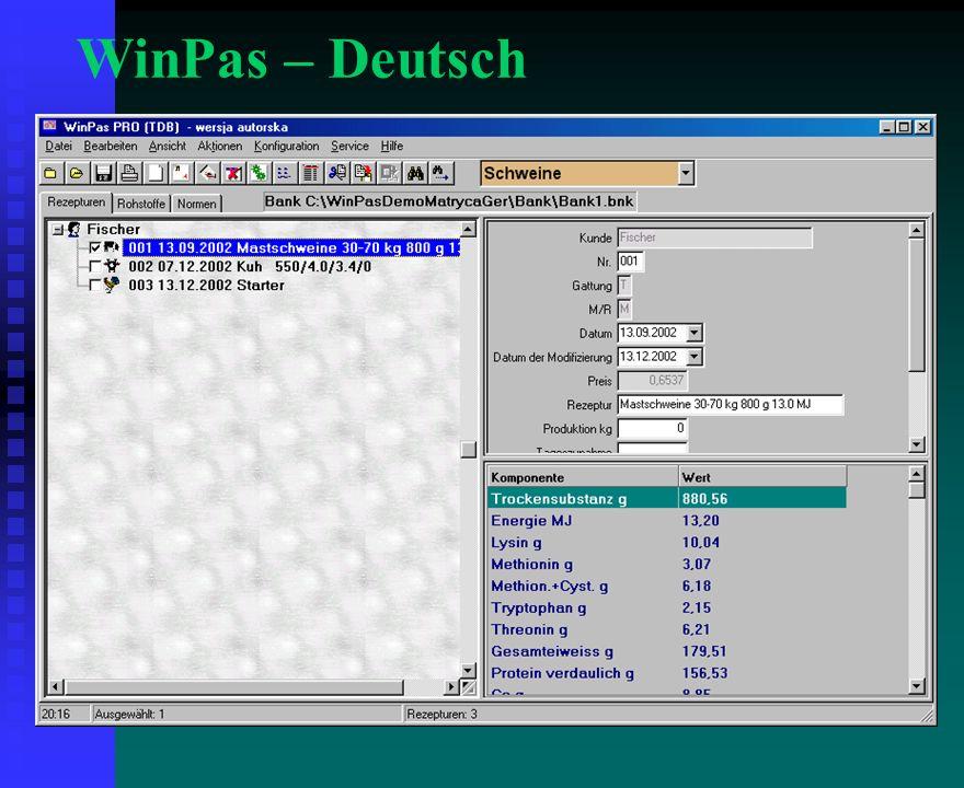 WinPas – Deutsch