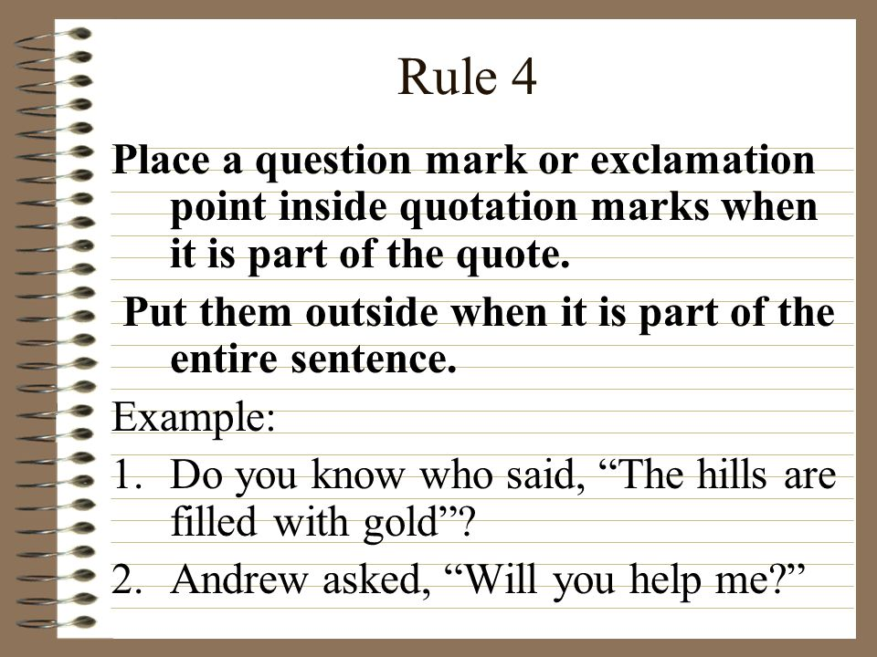 Do You Put Commas Before Quotes: Ppt Video Online Download