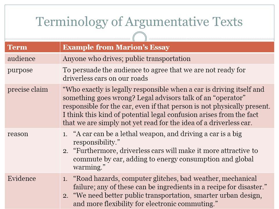 Argumentative Essays On Technology