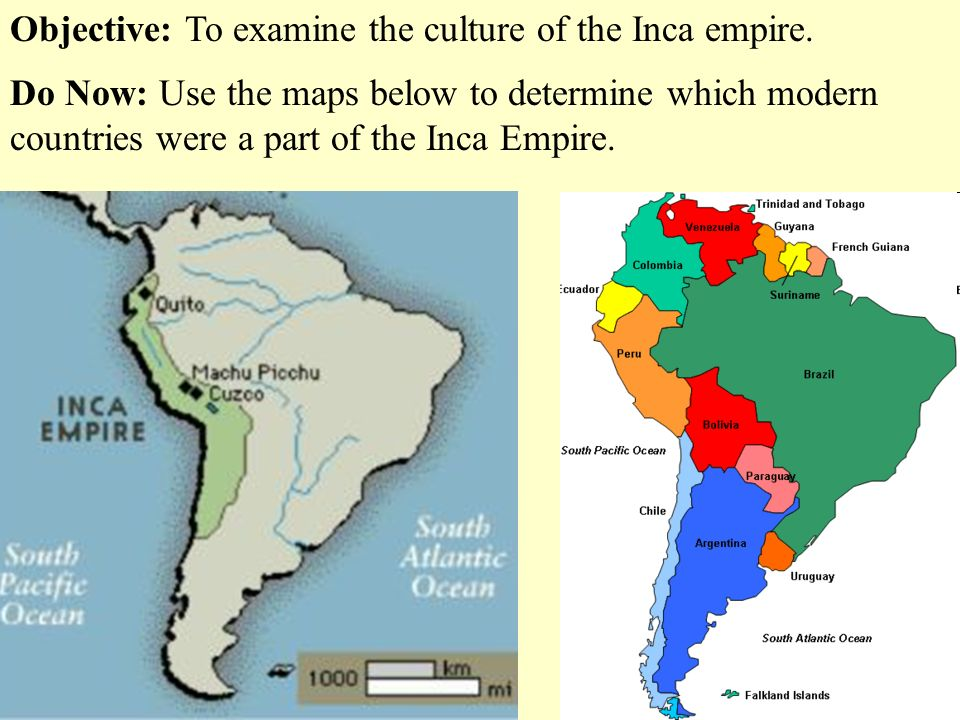 Inca Empire On World Map.Objective To Examine The Culture Of The Inca Empire Ppt Video
