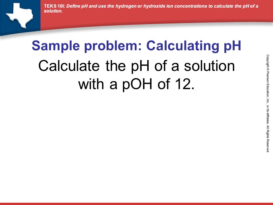 how to find poh from concentration