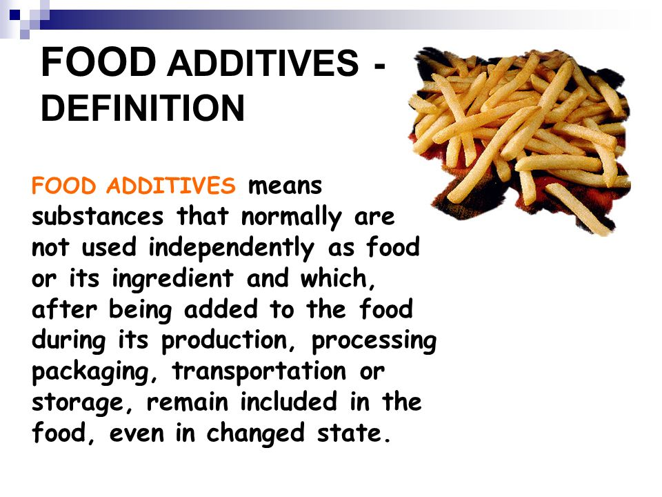 Additives and hazards in food ppt video online download for Cuisine meaning