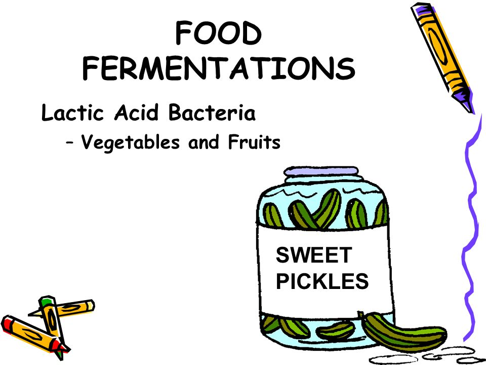 lactic acid bacteria in fermented food Learn how lacto-fermentation safely preserves foods and several different species within this genus are used to produce fermented foods lactobacillus bacteria convert sugars the lactobacillus organisms begin converting lactose and other sugars present in the food into lactic acid.
