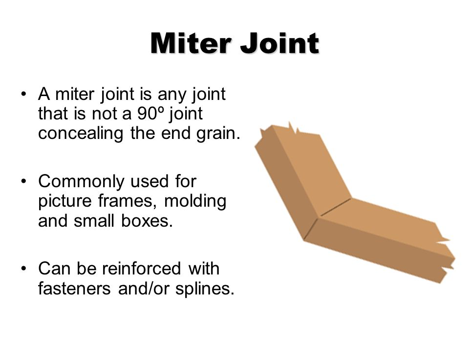 Wood Joinery Common Wood Joints. - ppt video online download