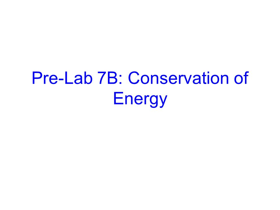 lab 05 conservation of energy