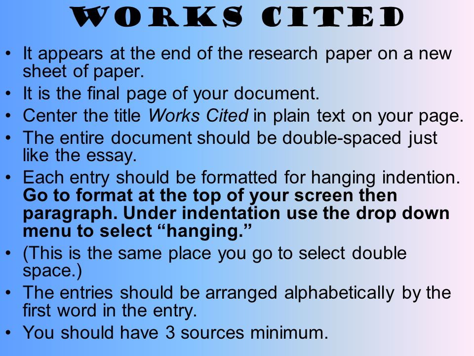 improper citation for research paper General writing • research and citation • teaching and tutoring a legitimate paraphrase: in research papers of quoted material in a research paper.