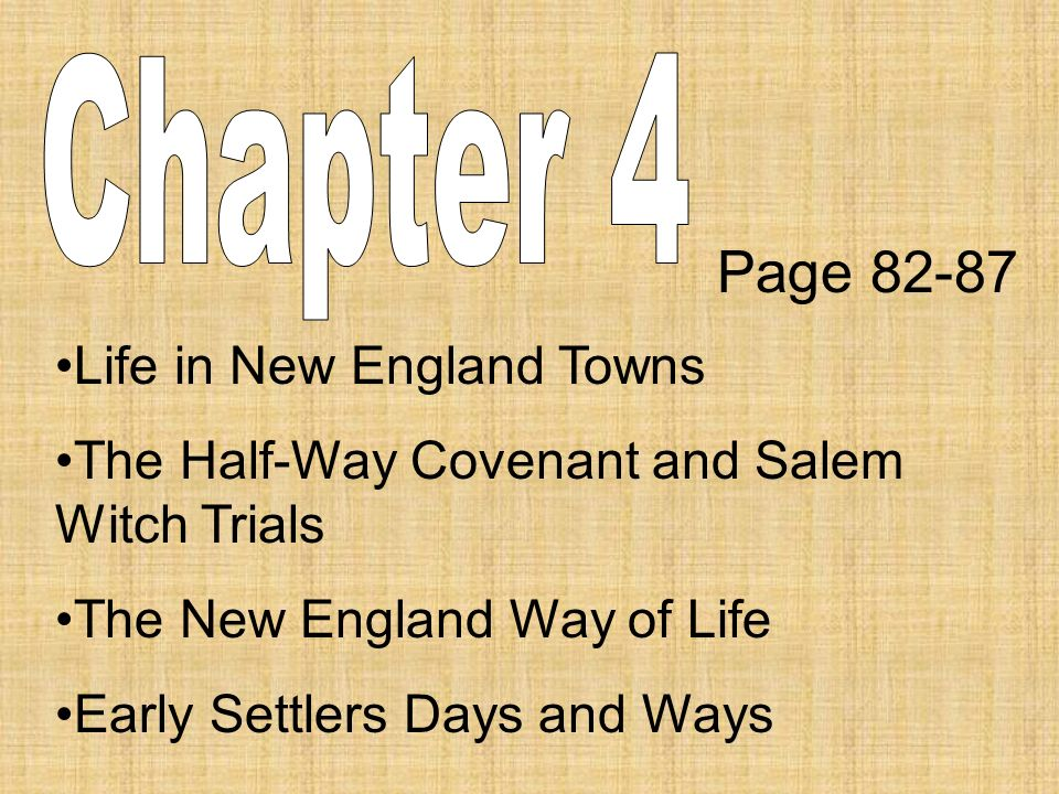 a look at the life in the early towns in new england A guide to 10 of new england's most charming small towns perfect for spring,   to julia roberts, got a small glimpse of this coastal connecticut town  the  country's early seafaring history to life with a re-created 19th-century.