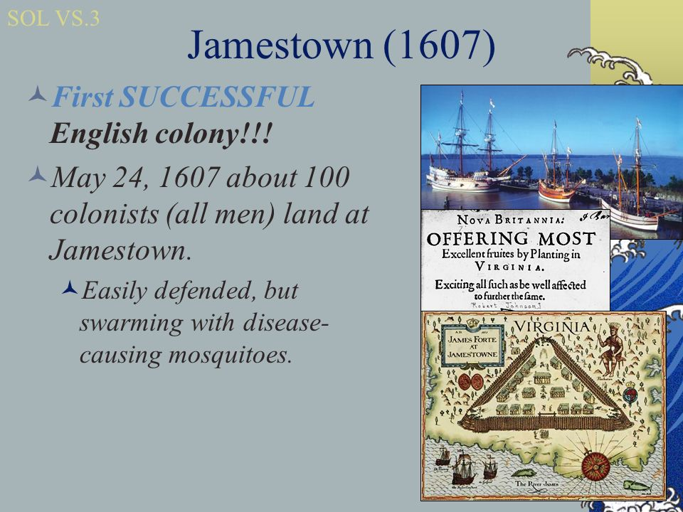 the challenges of jamestown colony