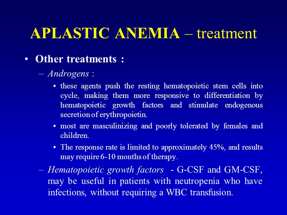 aplastic anemia essay Anemia is not considerate to be a specific disease it is a manifestation of many abnormal conditions some of the abnormal conditions that causes.