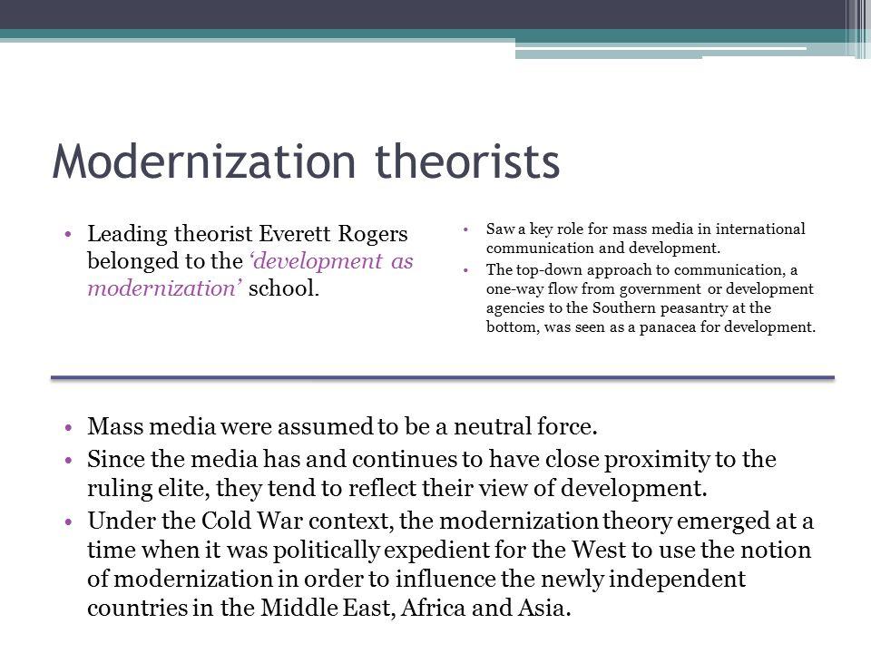 modernization theory of development pdf