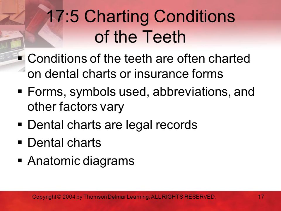 Dental Nursing Charting Symbols Heartpulsar