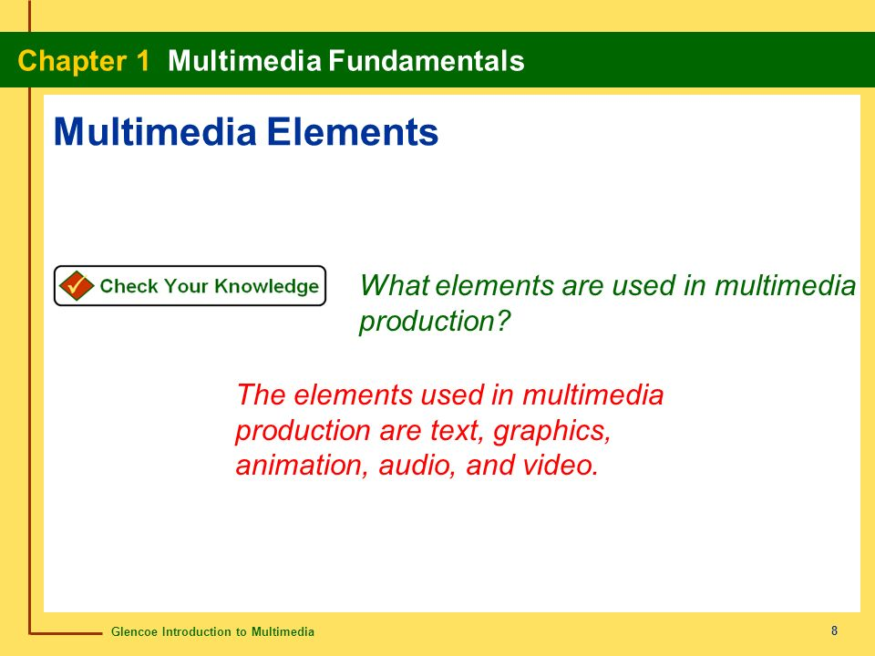 an analysis of the use of texts graphics and animations in multimedia Multimedia applications are computer programs that use a variety of media such as video, sound, still images and animated graphics for pre-recorded or live communications, especially mass communication.