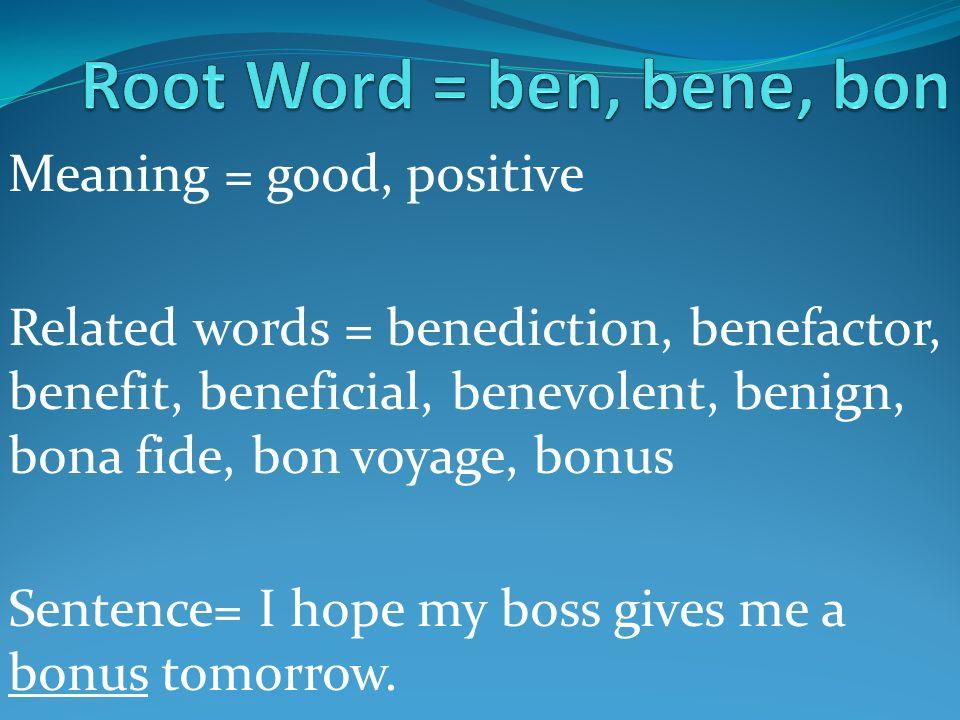 20 Common Root Words. - ppt video online download