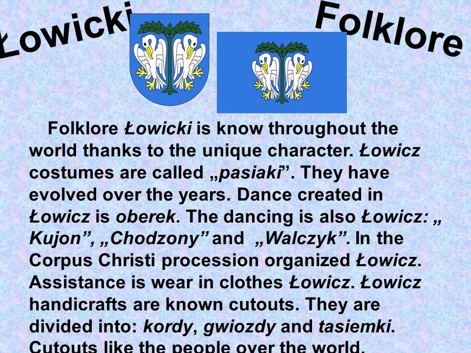 Folklore Łowicki.