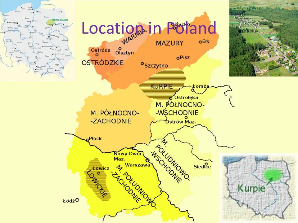 Location in Poland
