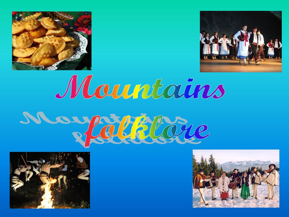 Mountains folklore