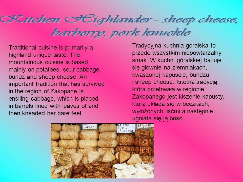 Kitchen Highlander - sheep cheese,