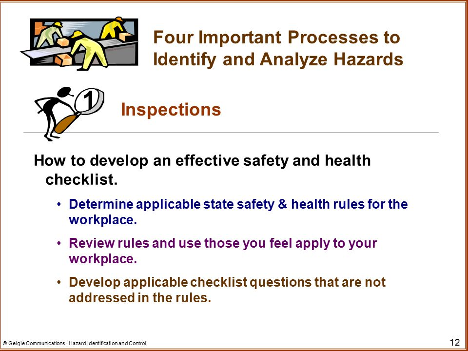 Welcome! Hazard Identification and Control - ppt video online download